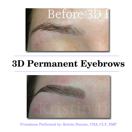 3D Beautiful Brows
